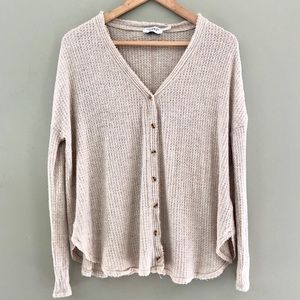 Out From Under Boho Button Long Sleeve XS Shirt